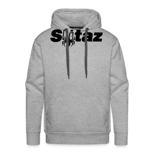 SliTaz Black Logo - Men's Premium Hoodie