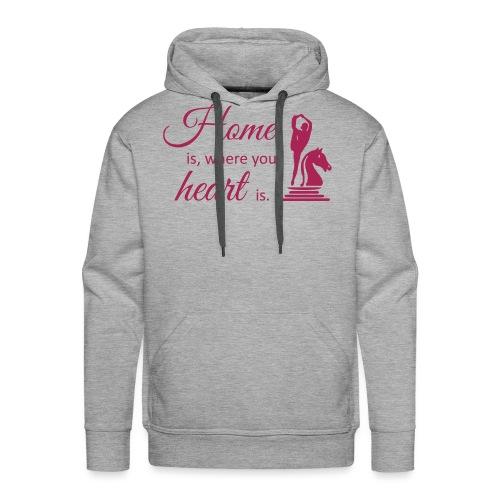 Homeiswhereyourheartis EDITION - Männer Premium Hoodie