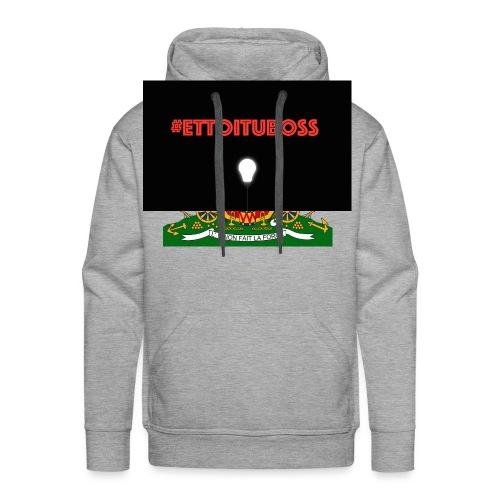 #ettoituboss - Sweat-shirt à capuche Premium pour hommes