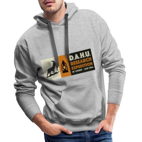 Expedition Chasse au Dahu - Sweat-shirt à capuche Premium pour hommes