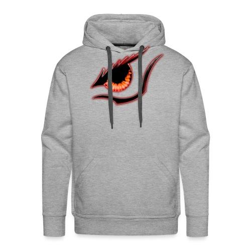 Oeil Rouge 4000 pxl - Sweat-shirt à capuche Premium pour hommes