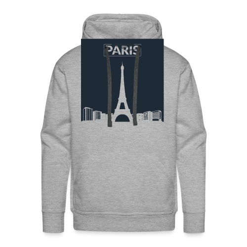 Paris - Collection 2015 - Sweat-shirt à capuche Premium pour hommes