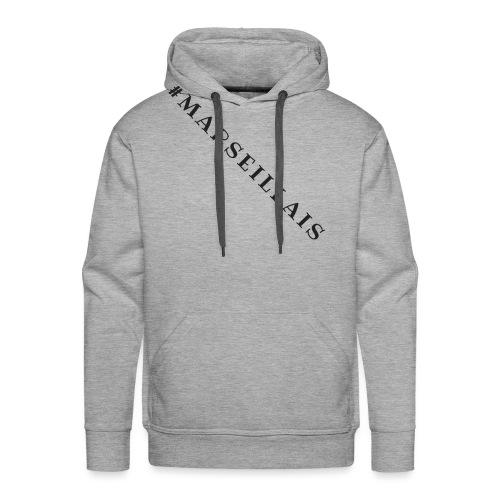 Je suis Marseillais - Sweat-shirt à capuche Premium pour hommes