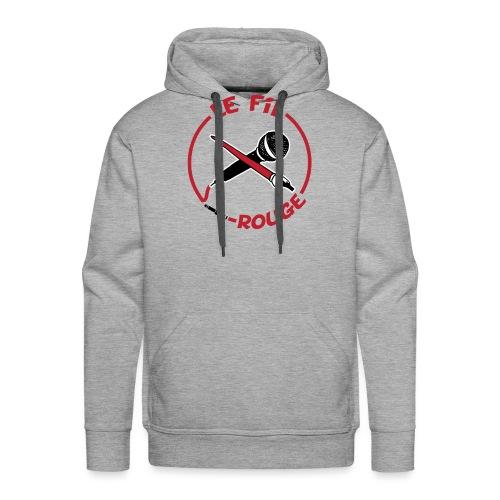 LOGO-LFR-pour-fond-blanc - Sweat-shirt à capuche Premium pour hommes