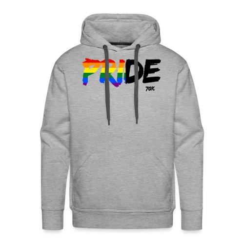 Pride 70% - Sudadera con capucha premium para hombre
