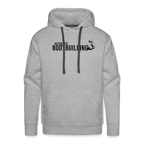 Authentic BODYBUILDING - Männer Premium Hoodie