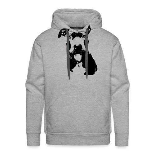 dog Bluline - Männer Premium Hoodie
