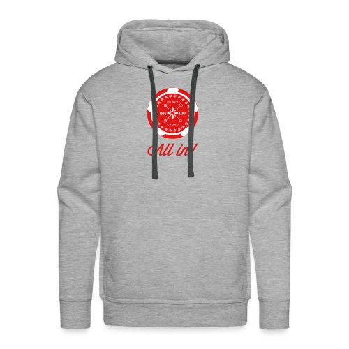 Poker-Collection red - Männer Premium Hoodie