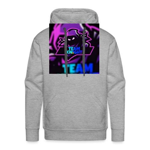 team knight aleen van voor - Mannen Premium hoodie