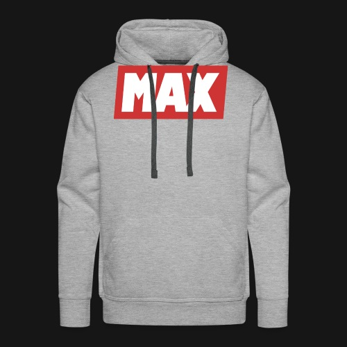 Max Red/white - Sweat-shirt à capuche Premium pour hommes