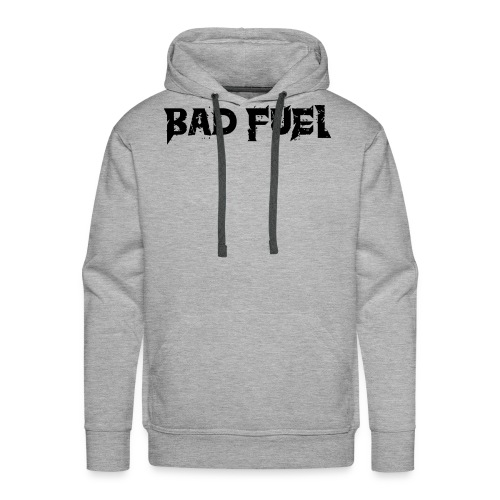 Bad Fuel logo - Men's Premium Hoodie