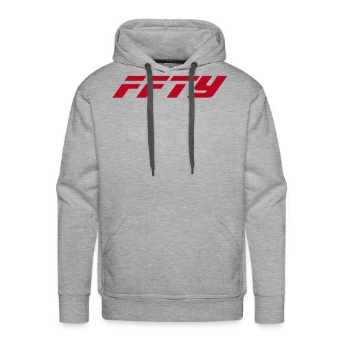 FFTY Schriftzug - Männer Premium Hoodie