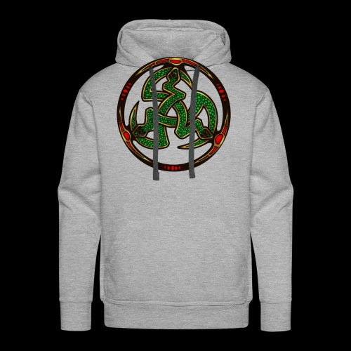 Serpent Triskellion - Men's Premium Hoodie
