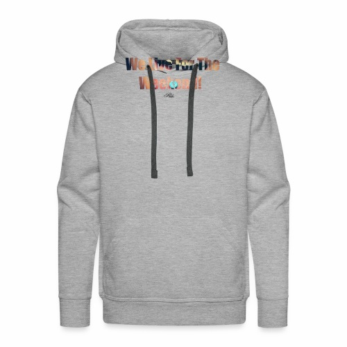 REX.13 We Live For The Weekend! - Men's Premium Hoodie