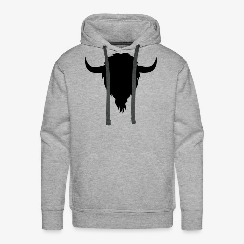 Bison silhouette - Men's Premium Hoodie