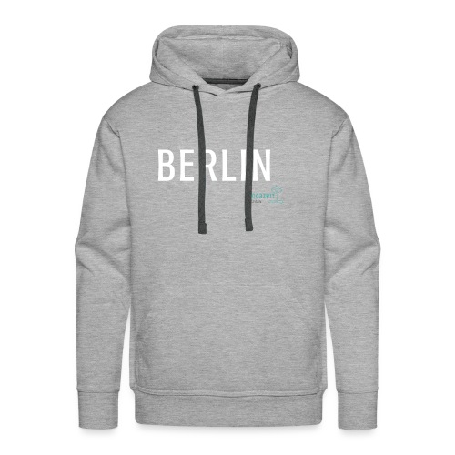 Lieblingsteil (Variante 1, Logo türkis & grau) - Männer Premium Hoodie
