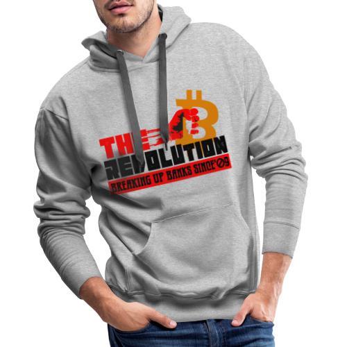 Die Bitcoin Revolution - BTC Revolution - Männer Premium Hoodie
