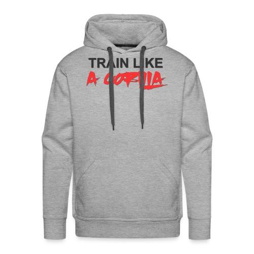 TRAIN LIKE A GORILLA - Sweat-shirt à capuche Premium pour hommes