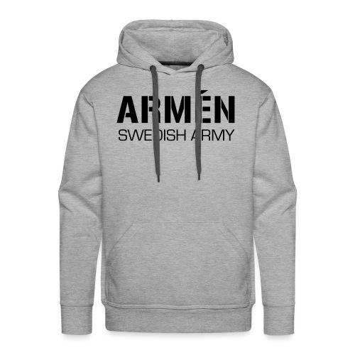 ARMÉN -Swedish Army - Premiumluvtröja herr