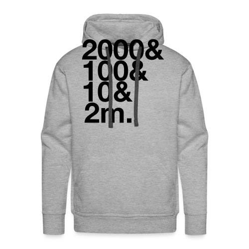 Henley 2112m - Men's Premium Hoodie