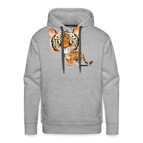 Tygrys - Bluza męska Premium z kapturem