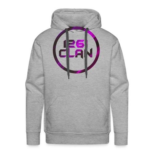 Pink and Black Logo - Men's Premium Hoodie