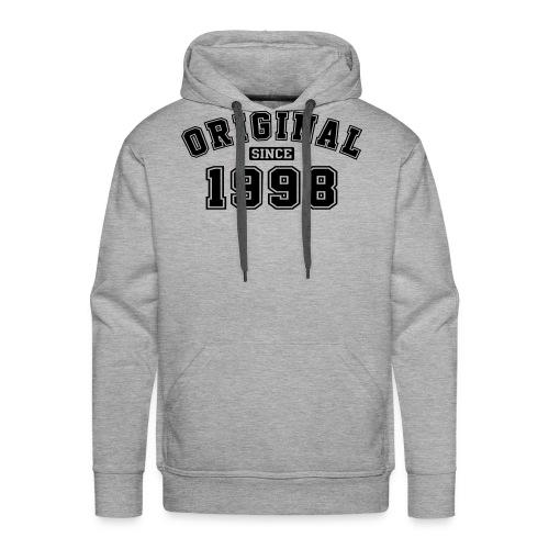 Original Since 1998 College Style - Männer Premium Hoodie