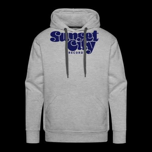 Sunset City Records Logo - Men's Premium Hoodie