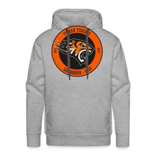 Tuiran Tiikerit, värikäs logo - Miesten premium-huppari