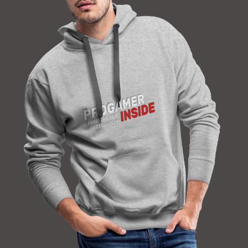 Progamer Inside Logo - Felpa con cappuccio premium da uomo