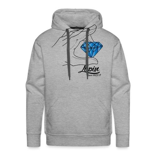 Diamant - Sweat-shirt à capuche Premium pour hommes
