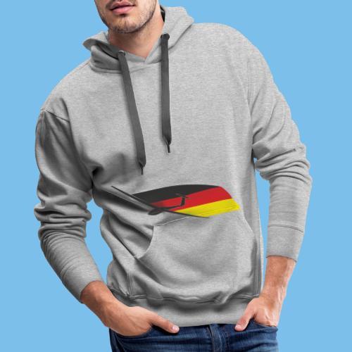 deutschlandflagge segelflugzeug Segelflieger - Männer Premium Hoodie