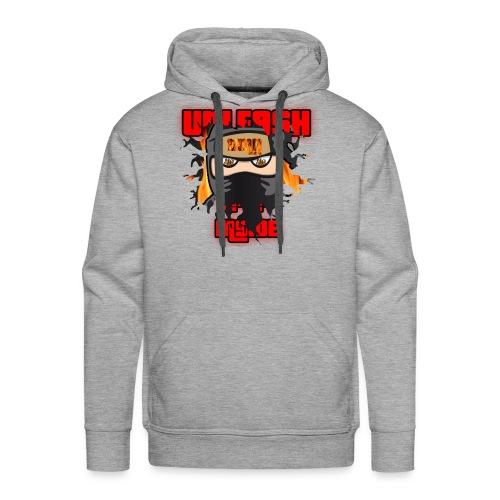 unleash the ninja inside - Men's Premium Hoodie