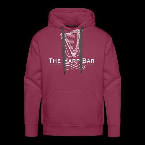 Logo The Harp Bar Paris - Sweat-shirt à capuche Premium pour hommes