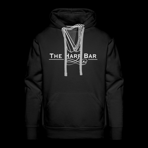 Logo The Harp Bar Paris - Sweat-shirt à capuche Premium pour hommes