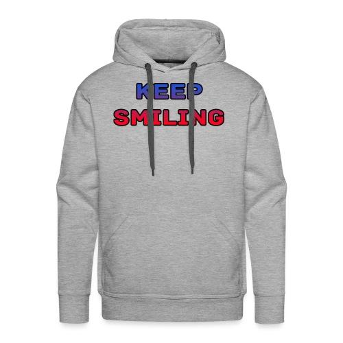 NEW keep smiling Mrspidey - Men's Premium Hoodie