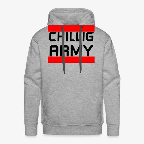 Chillig Army - Männer Premium Hoodie