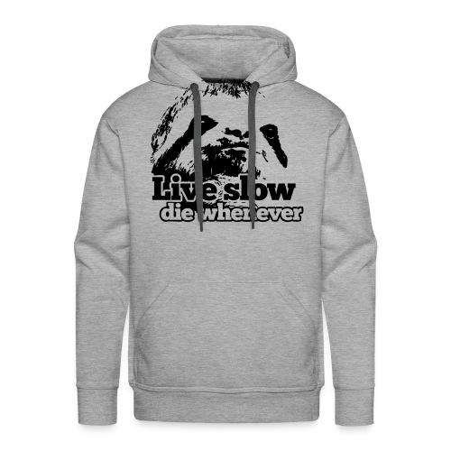Sloths Against Hunger - Männer Premium Hoodie