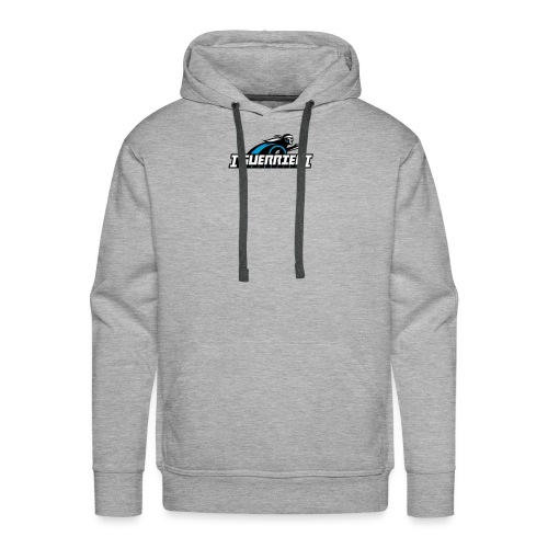 logo sans fond i guerrier - Sweat-shirt à capuche Premium pour hommes