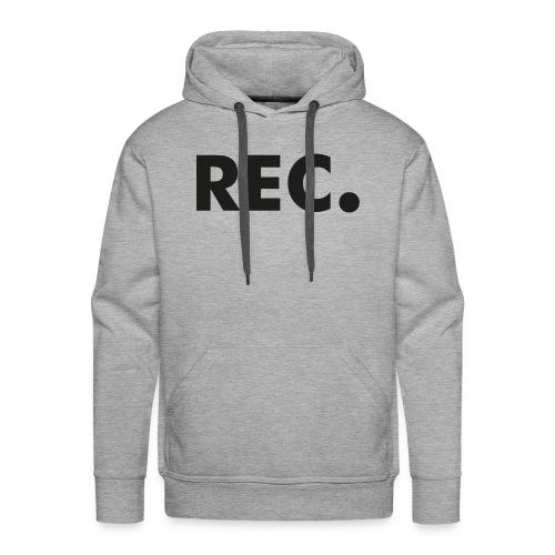 Rec zwart - Mannen Premium hoodie