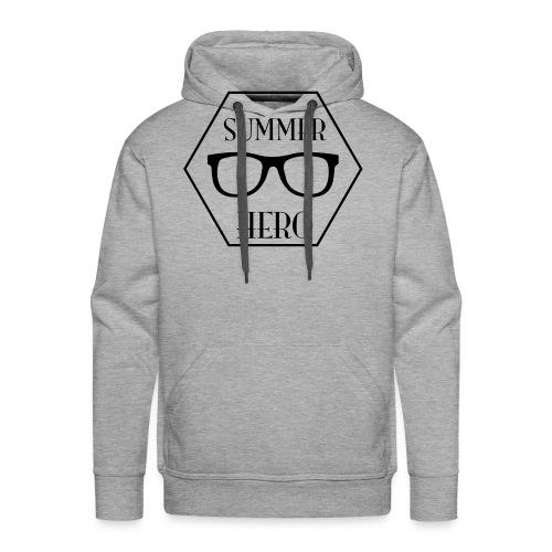 summer hero - Mannen Premium hoodie