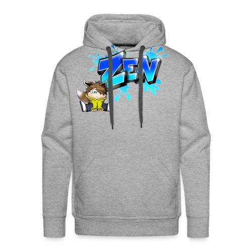 Graffiti Zen printable - Sweat-shirt à capuche Premium pour hommes
