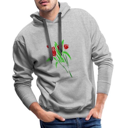 arts of flower - Men's Premium Hoodie