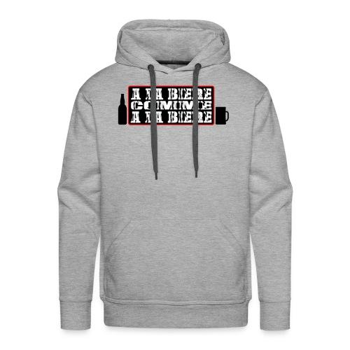 biere - Sweat-shirt à capuche Premium pour hommes