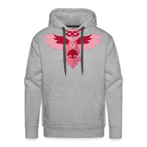 Pink Owl - Sudadera con capucha premium para hombre