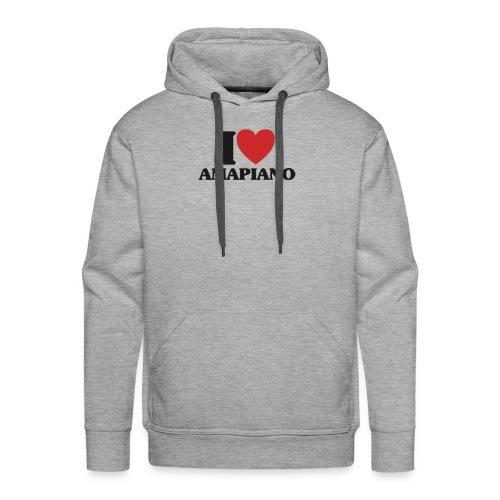 AMAPIANO - Sudadera con capucha premium para hombre