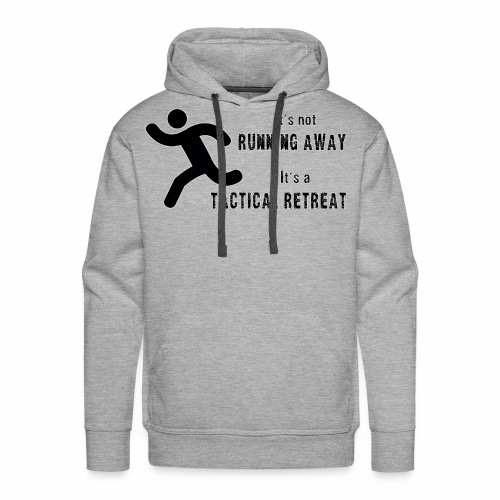 Tactical Retreat - Men's Premium Hoodie