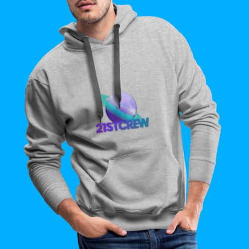 PurpleSaturn T-Shirt Design - Men's Premium Hoodie