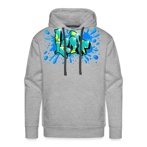 Graffiti Leon Printable - Men's Premium Hoodie