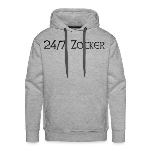 24/7 Zocker - Männer Premium Hoodie